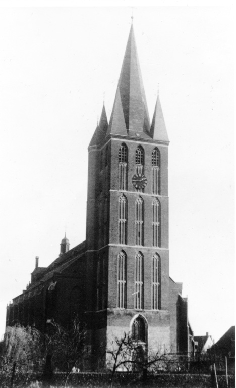 The St. Petrus Banden Church tower
