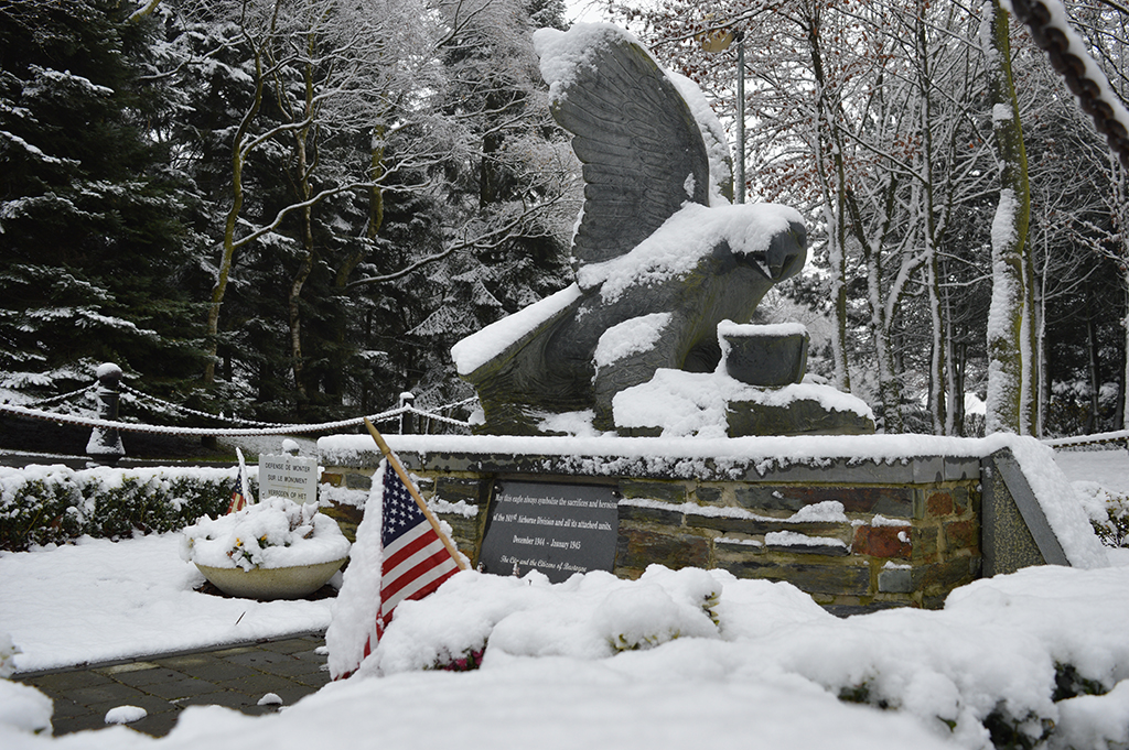 The Eagle Monument in Bastogne